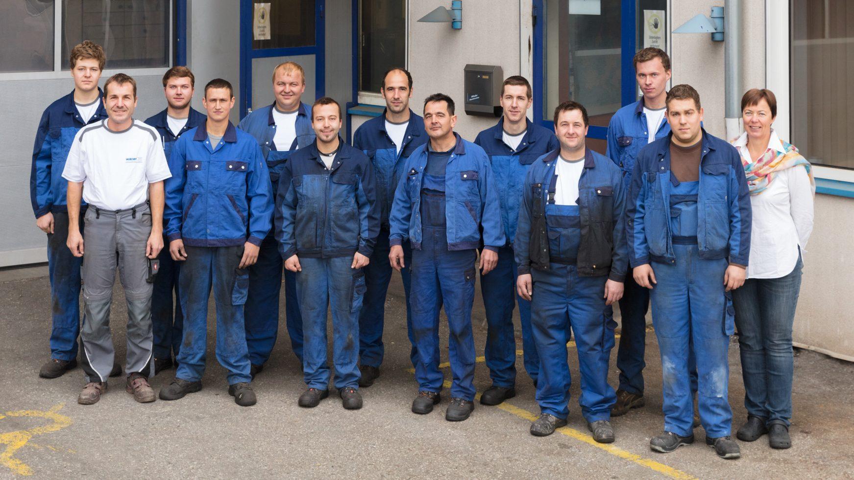 Unser Team - Wieder Maschinenbau