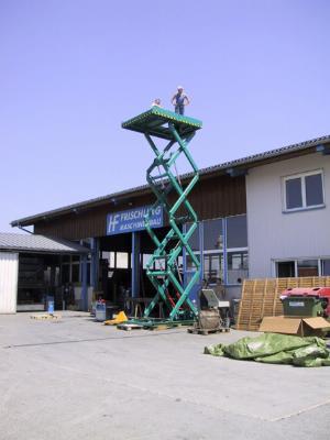 Scissors Lifting Platforms – Wieder Maschinenbau – Veneer and